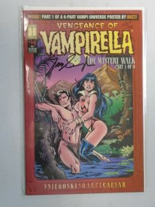 Vengeance of Vampirella #14 Signed with Dynmic Forces CoA 6.0 FN (1995 Harris)