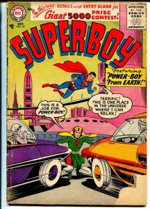 Superboy #52 1956-DC Comics-Power-Boy-GOOD+