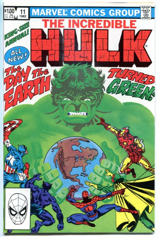 HULK Annual #11, VF/NM, Incredible, Frank Miller, 1968, more Marvel in store