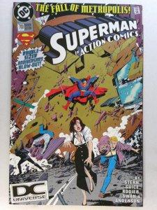 Action Comics #700 NM- 9.2 DC Superman Gold Edition