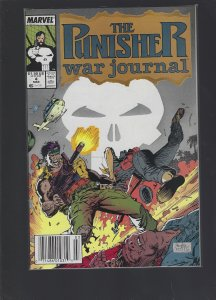 The Punisher War Journal #4 (1989)