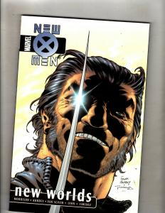 New X-Men Vol. # 3 New Worlds Marvel Comics TPB Graphic Novel Book J348