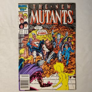 The New Mutants #46 (1986) Mark Jeweler VG/F