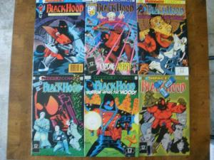 6 Impact THE BLACK HOOD Comic Book: #1 #3 #5 #6 #7 #10 (1991 1992)