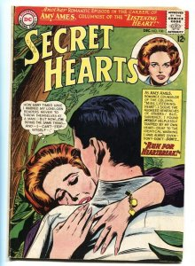 Secret Hearts #100 1964- Amy Ames- DC Silver Age Romance VG