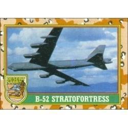 1991 Topps Desert Storm B-52 STRATOFORTRESS #25