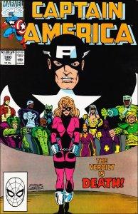 Marvel CAPTAIN AMERICA (1968 Series) #380 VF/NM