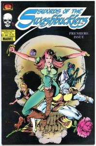 SWORDS of the SWASHBUCKLERS #1 2 3 4 5 6 7 8 9 10, VF+, 1985, 10 issues