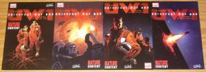 Universal War One #1-3 VF/NM complete series + variant - denis bajram marvel 2