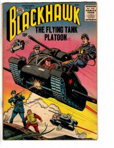 BLACKHAWK 106 VERY GOOD November 1956