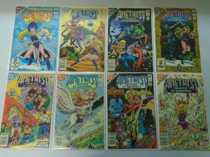 Amethyst Lot, 30 Different Average 8.0/VF (1983-1986)