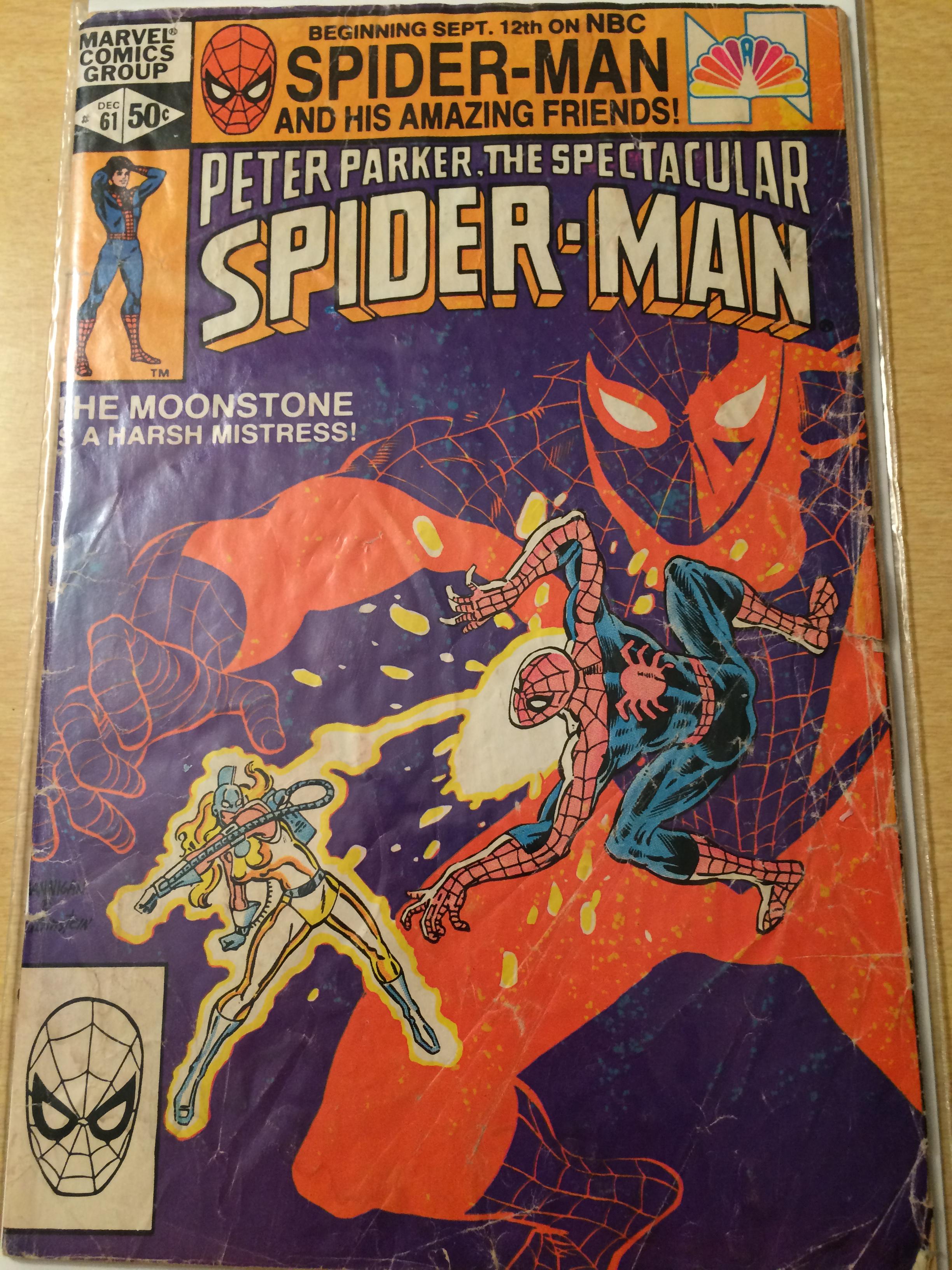 Peter Parker SPECTACULAR SPIDER-MAN #1 DEC 1976 Near Mint or better