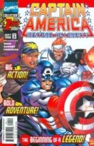 Captain America: Sentinel of Liberty #1, NM (Stock photo)