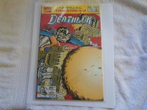 1992 ANNUAL TIMESTREAM DEATHLOK # 1