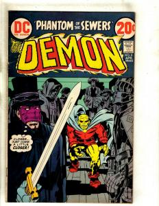 The Demon # 8 VF DC Comic Book Jack Kirby Bronze Age Etrigan Fourth World RS1