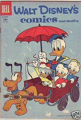 Walt Diney's Comic and Stories 182 Barks strict VF 8.0 High-Grade 40pct BV$46.00