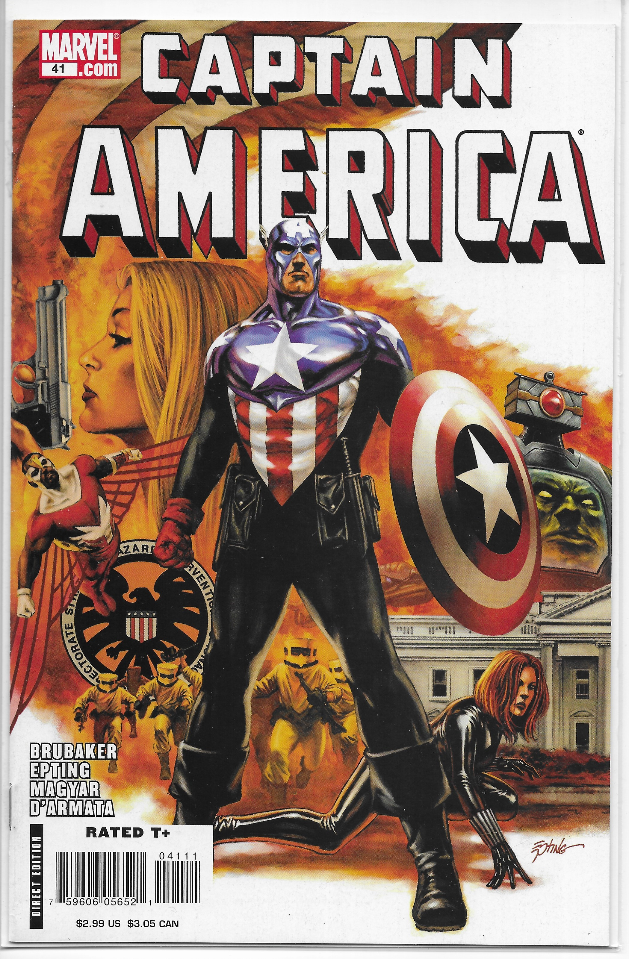 Captain America #407 September 1992 Marvel Comics