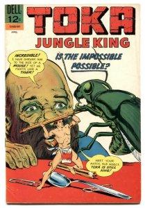 Toka Jungle King #7 1966- Dell comics FN-