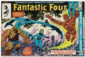 Fantastic Four (Vol. 1) #252 FN with Lakeside Tattooz sample - Marvel 1983