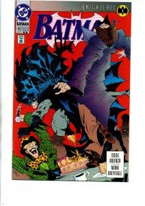 Batman #492 - 2nd Print - Knightfall - 1992 - VF/NM