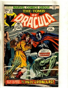 The Tomb Of Dracula # 8 VF/NM Marvel Comic Book Vampire Monster Horror Fear RS1