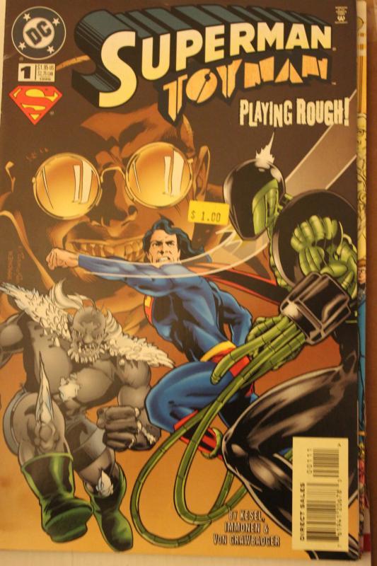 Superman/Toyman #1 9-4-nm