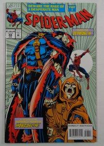 Spider-Man #48 NM Hobgoblin Front/Back Cover Photos Marvel 1994