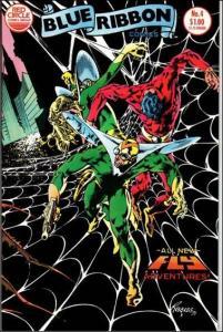 Red Circle BLUE RIBBON COMICS (1983 Series) #4 VF/NM
