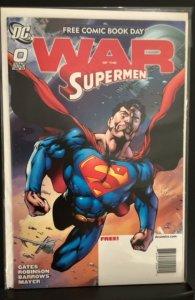 Superman: War of the Supermen #0 (2010)