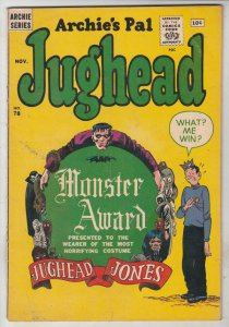 Jughead, Archie's Pal #78 (Nov-61) FN/VF Mid-High-Grade Archie, Betty, Veroni...