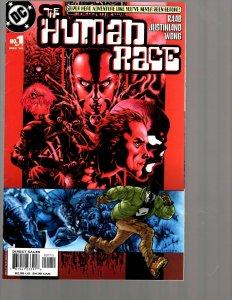 12 Comics Human Race 1 2 4 Doom Patrol 3 Superman 4 Bludhaven 2 3 and more EK19