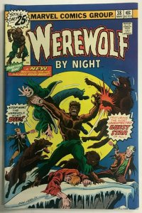 WEREWOLF BY NIGHT#38 VF 1976 MARVEL BRONZE AGE COMICS