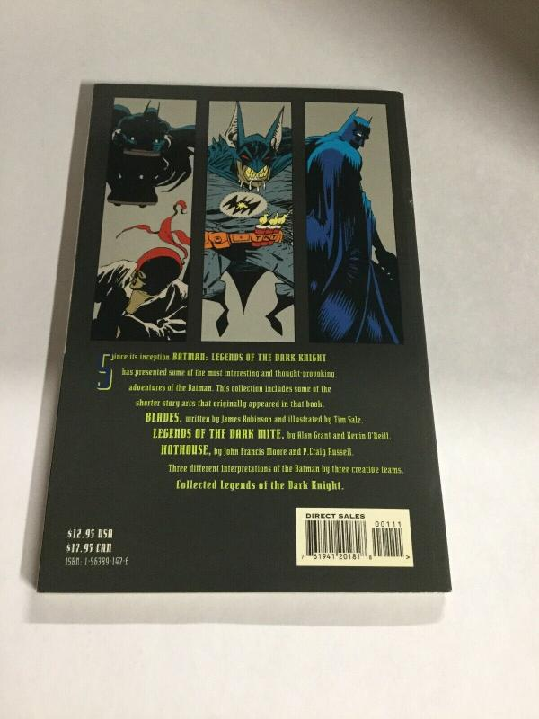 Batman Collected Legends Of The Dark Knight Nm Near Mint DC Comics SC TPB