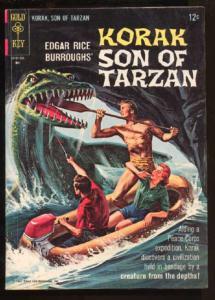 Korak: Son of Tarzan (1964 series) #8, VF- (Actual scan)
