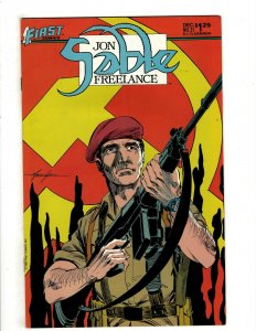 12 Jon Sable Freelance First Comics # 31 32 39 42 43 44 45 46 47 48 50 52 HG4