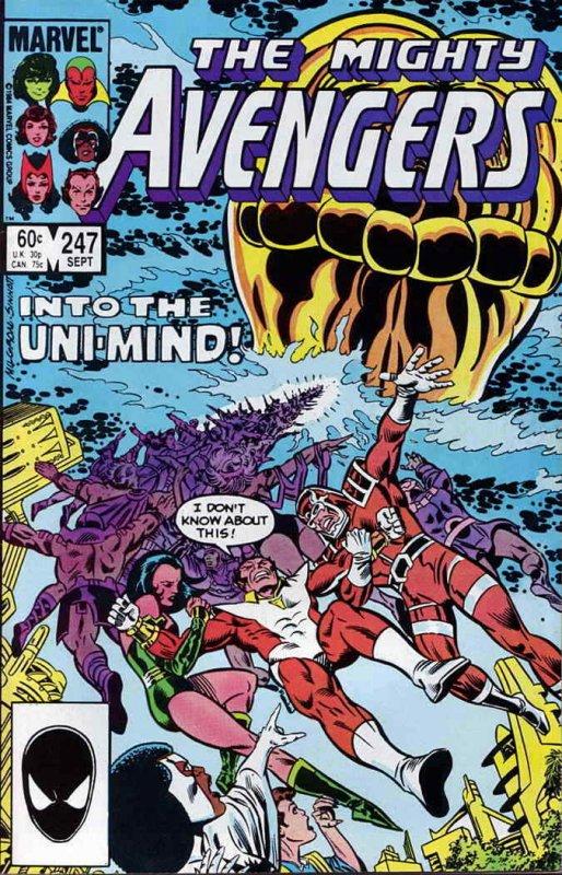 Avengers, The #247 FN; Marvel   save on shipping - details inside