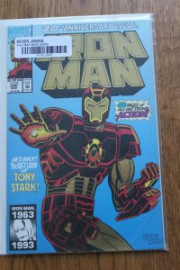 IRON MAN #290 (Marvel,1993) Foil Cover Condition VF/NM