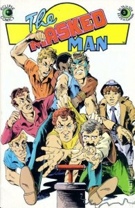 MASKED MAN #3, VF/NM, Eclipse Comics 1984 1985 more Indies in store