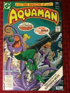 Aquaman #57 1977 Black Manta The Fisherman Dc Comics FN/VF
