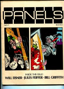 Panels #1 1979-1st issue-Spirit-Will Eisner-Bill Griffith-Jules Feiffer-FN