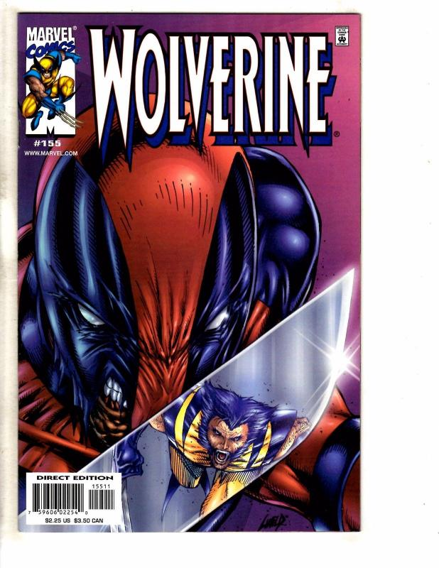 Wolverine # 155 NM 1st Print Marvel Comic Book X-Men Deadpool Cover X-Force GM16