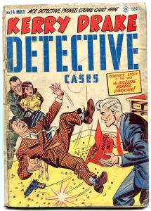 Kerry Drake Detective Cases #14 1949- Bob Powell- Golden Age Crime G/VG
