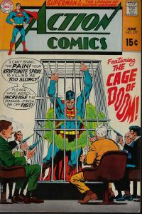 Action Comics #377 (DC, 1969) - F+/VF-