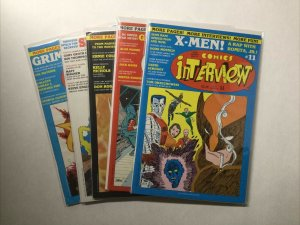 Comics Interview 11 12 13 14 15 Lot Run Set Near Mint- Nm- 9.2 Fictioneer