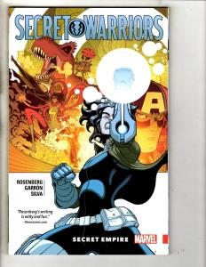 Secret Warriors Secret Empire V1 Marvel Comics Graphic Novel TPB Comic Book J297