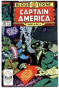 Captain America #360--CROSSBONES-Marvel Copper Age--KEY!  VF+