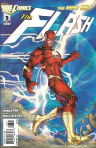 The Flash #3 Jim Lee Variant 2011 (NM) stock photo