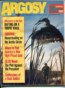 Argosy 11/1972-Popular-Plot Against President-exploitation-pulp fiction-FN