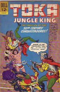 Toka Jungle King #8 (Jul-66) VG/FN Mid-Grade Toka