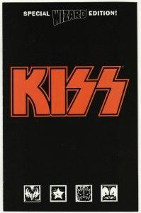 Kiss Special Wizard Edition Plus Sticker Sheet (Wizard, 1998) FN